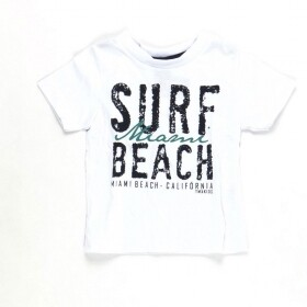 Camiseta Surf Miami Beach Branca