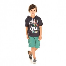 Camiseta Play Harder - Ralakids