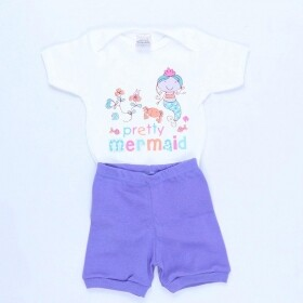 Conjunto Body Pretty Mermaid - Enjoy Baby
