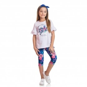 Conjunto Flower Super Girl - TMX