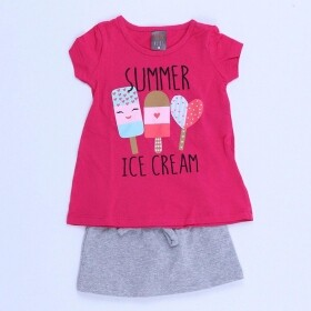 Conjunto Ice Creams Time Pink