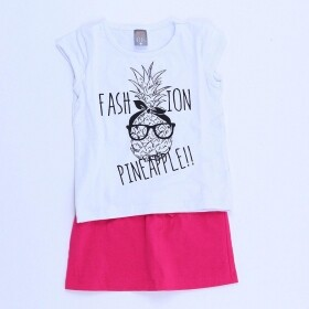 Conjunto Fashion Pineapple - Mister Kids