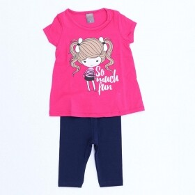 Conjunto So Much Fun Pink - Mister Kids