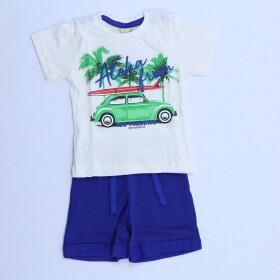 Conjunto Road to Beach Creme - Hrradinhos