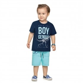 Conjunto Boy Genius