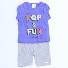 Conjunto Pop & Fun Roxo