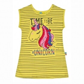 Vestido Unicorn Yellow - Cristina