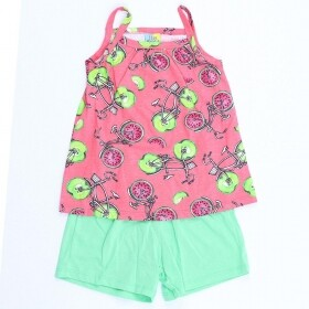 Conjunto Bike Fruit Rosa - Cristina