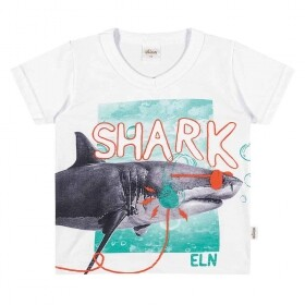 Camiseta Fun Shark - Elian