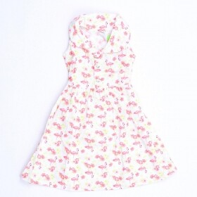 Vestido Flamingos do Caribe - Ralakids