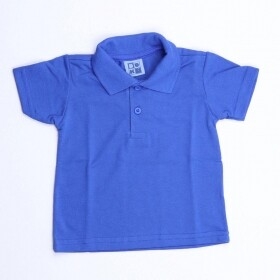 Camisa Polo Piquê Royal - Duduka