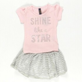 Conjunto Shine Like a Star Rosa
