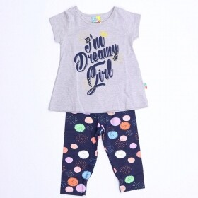 Conjunto Im Dreamy Girl Cinza - Bee Loop