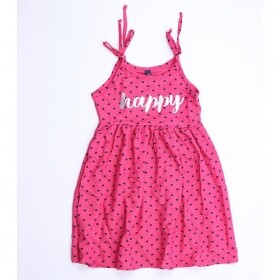 Vestido Happy Love Rosa - Duduka