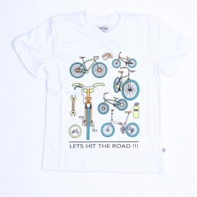 Camiseta Let Hit The Road