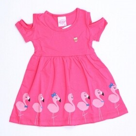 Vestido Flamingo Tropical Pink - Abrange