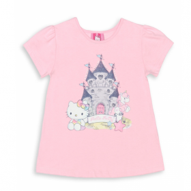 Blusa Hello Kitty Castle - Hello Kitty