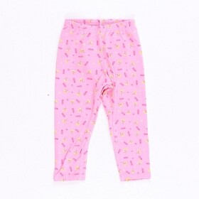 Calça Legging Pizza Lover Rosa