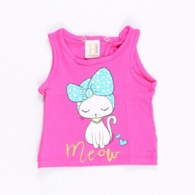 Blusinha Meow Fancy Rosa
