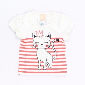 Blusinha Queen Cat Creme