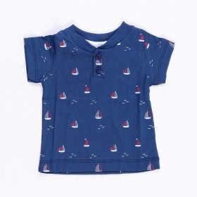 Camisa Little Sailor Azul Marinho