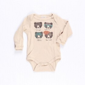 Body Hipster Bear - Up Baby