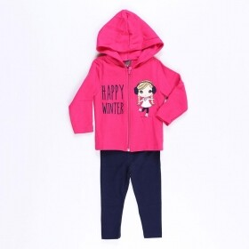 Conjunto Happy Winter Pink - Mister Kids