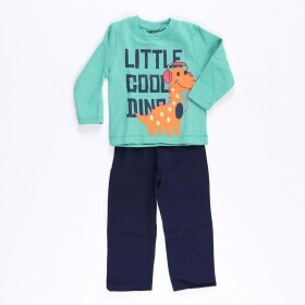 Conjunto Little Cool Dino Verde - Mister Kids