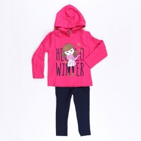 Conjunto Hello Winter Pink - Mister Kids