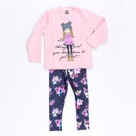 Conjunto Girl Things Rosa - Mister Kids