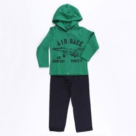 Conjunto Air Race Propety Verde - Mister Kids