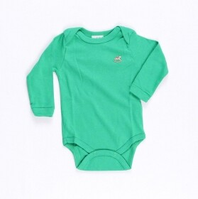Body Suedine Basico Verde - Up Baby