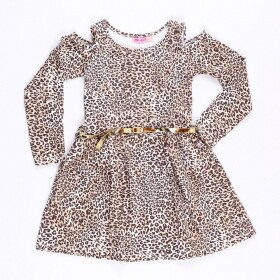 Vestido Animal Print Fashion - Mr Kids