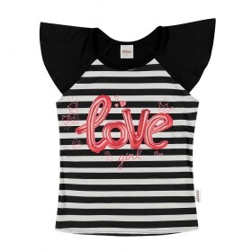 Blusa Crepe Love Girl - Elian