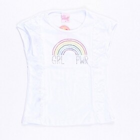 Camiseta Girl Power Rainbow - Patota Toda