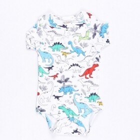 Body Suedine Dinossauros - Up Baby