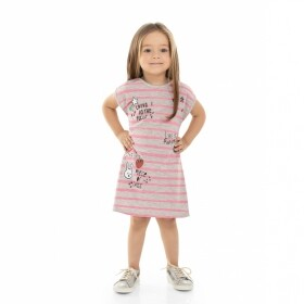 Vestido Patch Cinza - Bee Loop