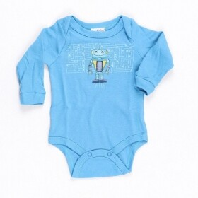 Body Suedine Little Robot - Up Baby