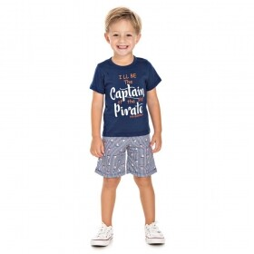 Conjunto Captain Pirate - Hrradinhos
