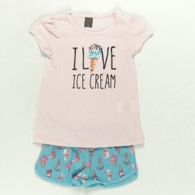 Conjunto Love Ice Cream Rosa