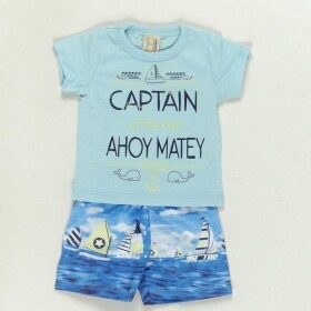 Conjunto Captain Of The Ship Azul - Hrradinhos