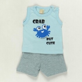 Conjunto Cute Crab com Estampa no Bumbum