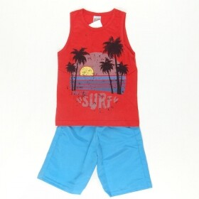 Conjunto Menino Regata Surf Los Angeles