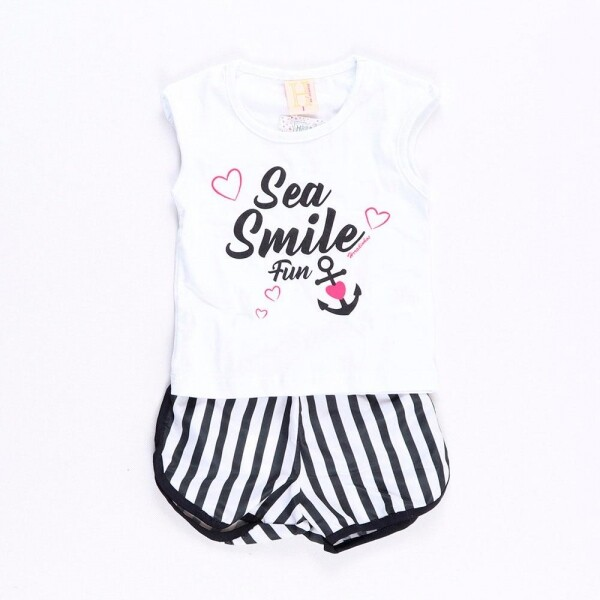 Conjunto Sea Smile Branco
