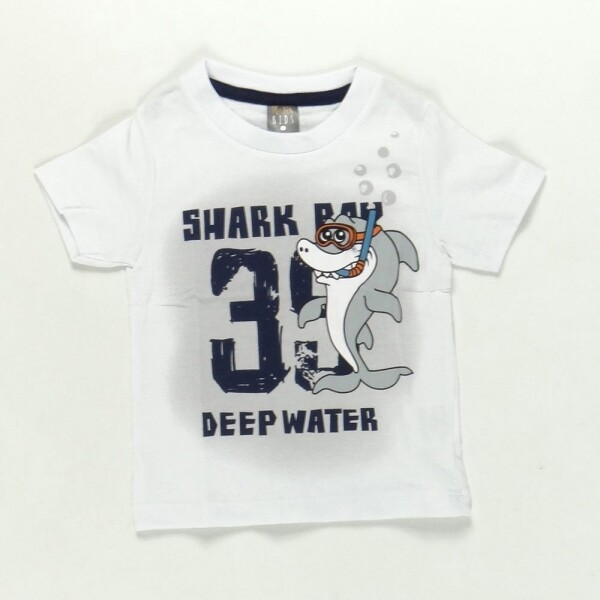 Conjunto Shark Water Branco